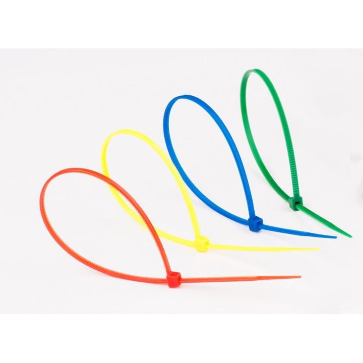 Стягач кабельний 4х200 мікс 4 кольори