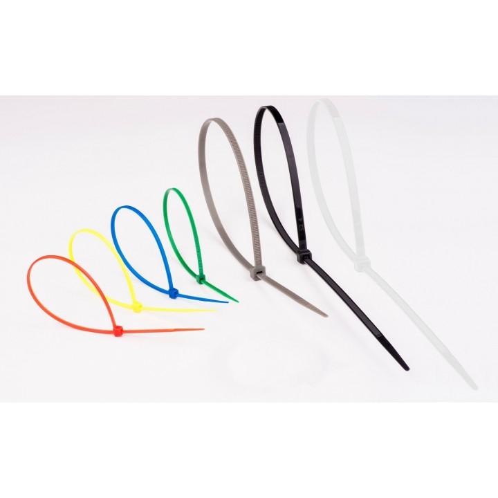 Стягач кабельний 4х200 мікс 7 кольорів