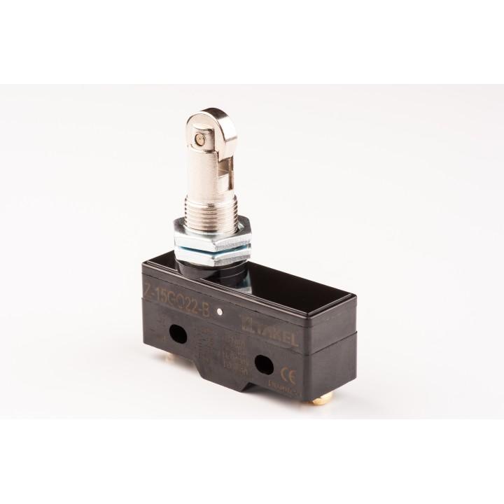 Мікровимикач Z-15GQ22-B шток з паралельним роликом
