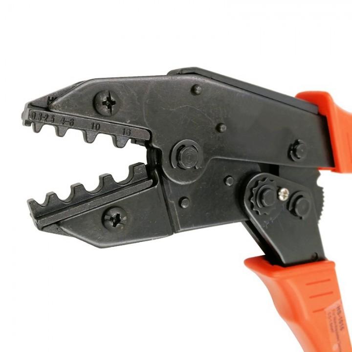 Інструмент обпресовувальний HS-1016 для наконечників без ізоляції 0,25-16 мм²