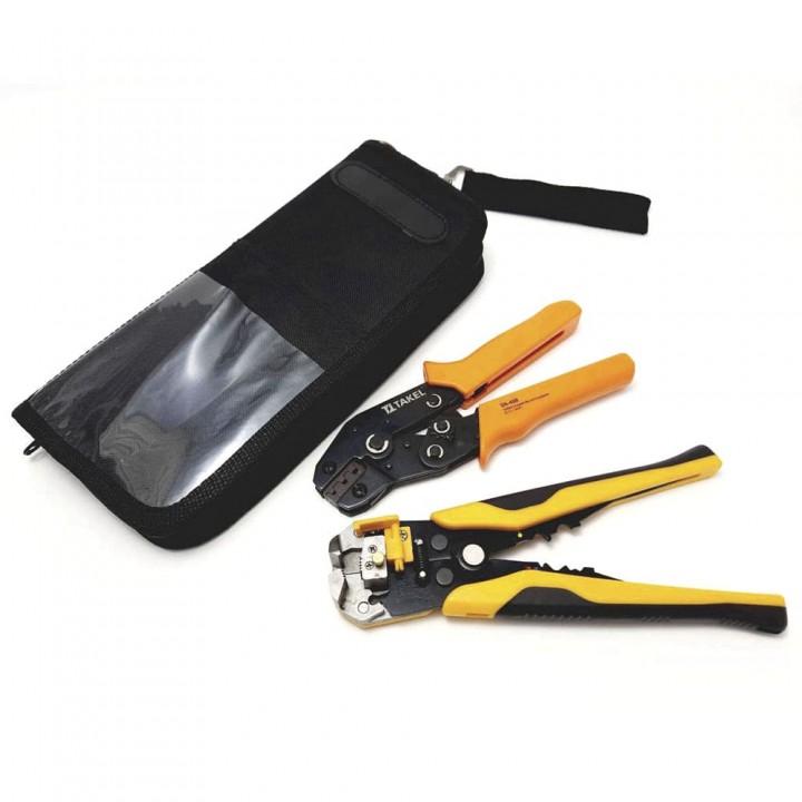 Комплект інструментів №2 для конекторів МС-4 із зачистом проводів
