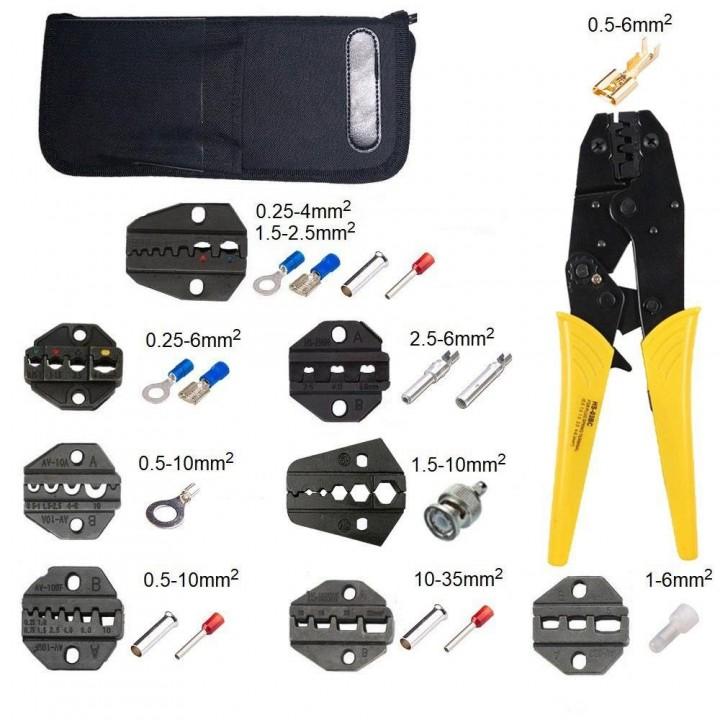 Комплект інструментів №3 багатофункціональний зі змінними матрицями (9комплектів)