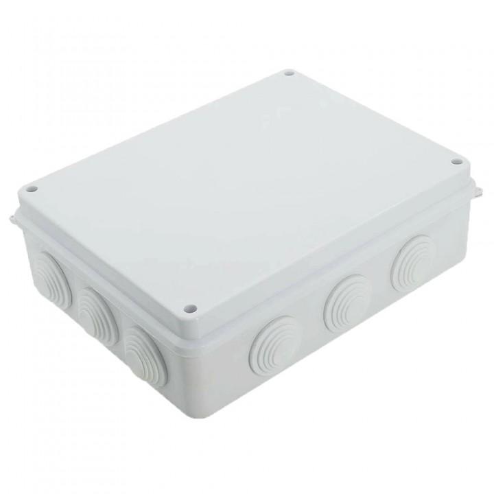 Коробка розподільча вологостійка ІР65 255х200х80