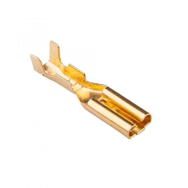 Конектор плоский без ізоляції DJ623-2.8A роз'єм мама