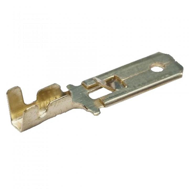 """Конектор плоский BMC 0.75-2.5-6.3 0.37мм (роз'єм """"Папа"""")"""
