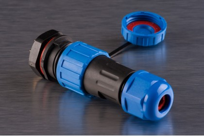 Конектори вологозахищені швидкороз'ємні SP-16 (роз'єми герметичні)