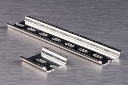 DIN-рейки (монтажні рейки) для певної кіл-ті полюсів
