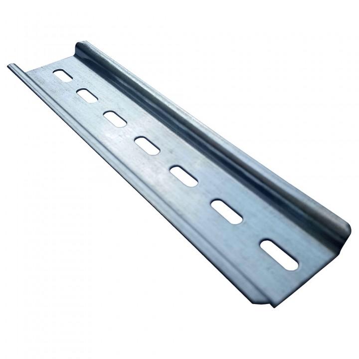 DIN-рейка 35 * 7.5мм в відрізку довжиною для 8 полюсів