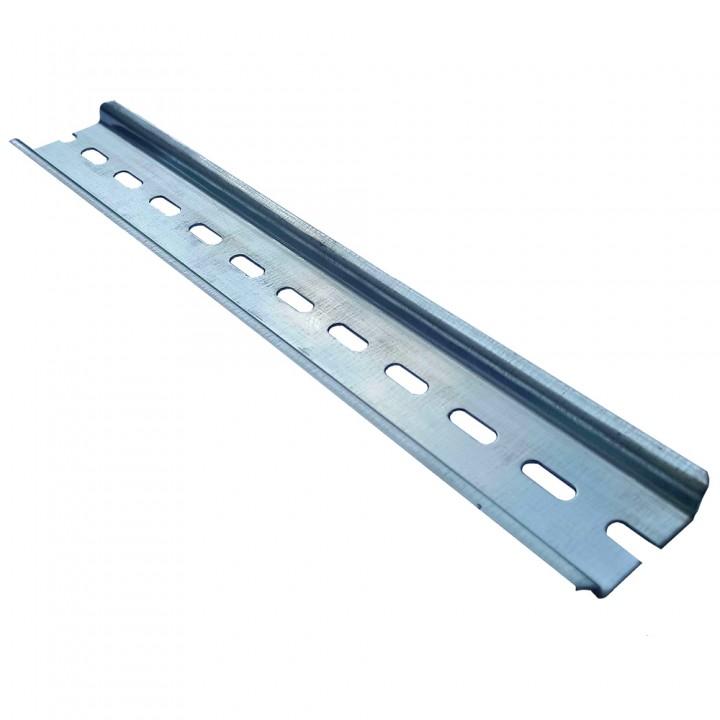 DIN-рейка 35 * 7.5мм в відрізку довжиною для 16 полюсів