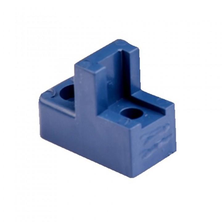 Ізолятор для кріплення шини кутовий квадратний