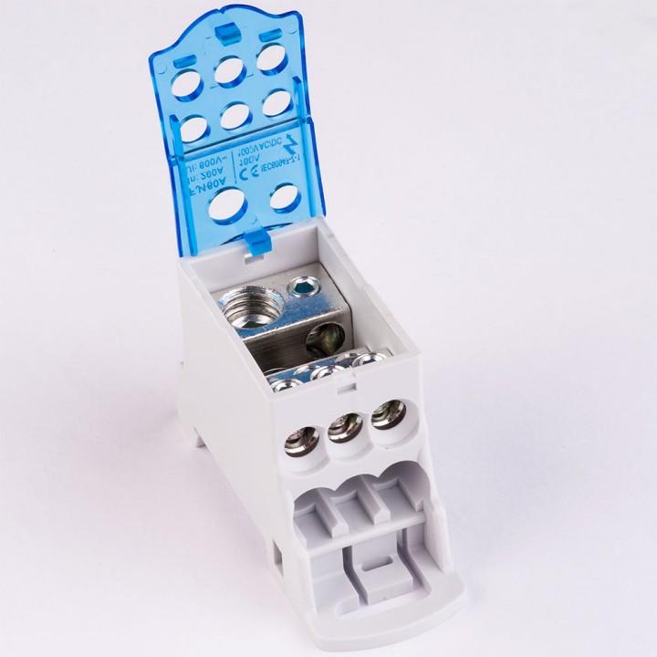 Блок розподільчий 160А на DIN-рейку