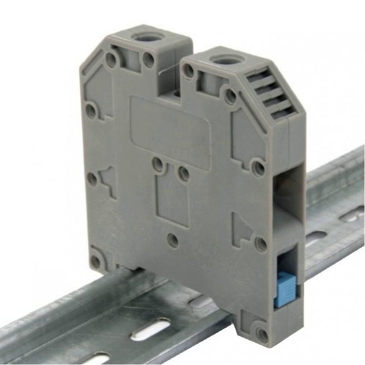 Клемма на DIN-рейку CT 16 мм², сіра