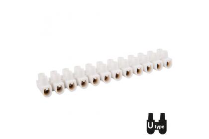 Клемні колодки термостійкі гвинтові РА / гвинтові ізольовані затискачі