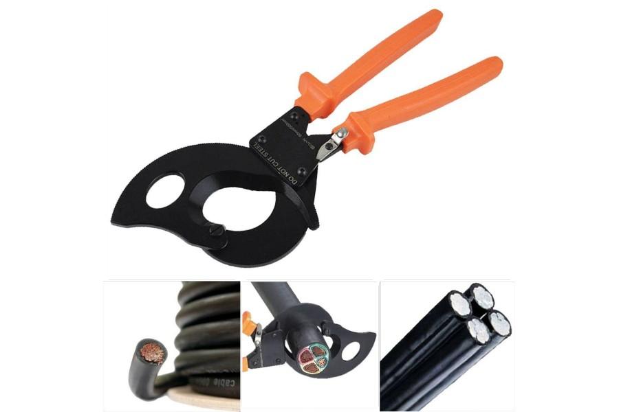 Інструмент для різання кабелю і виробів зі сталі